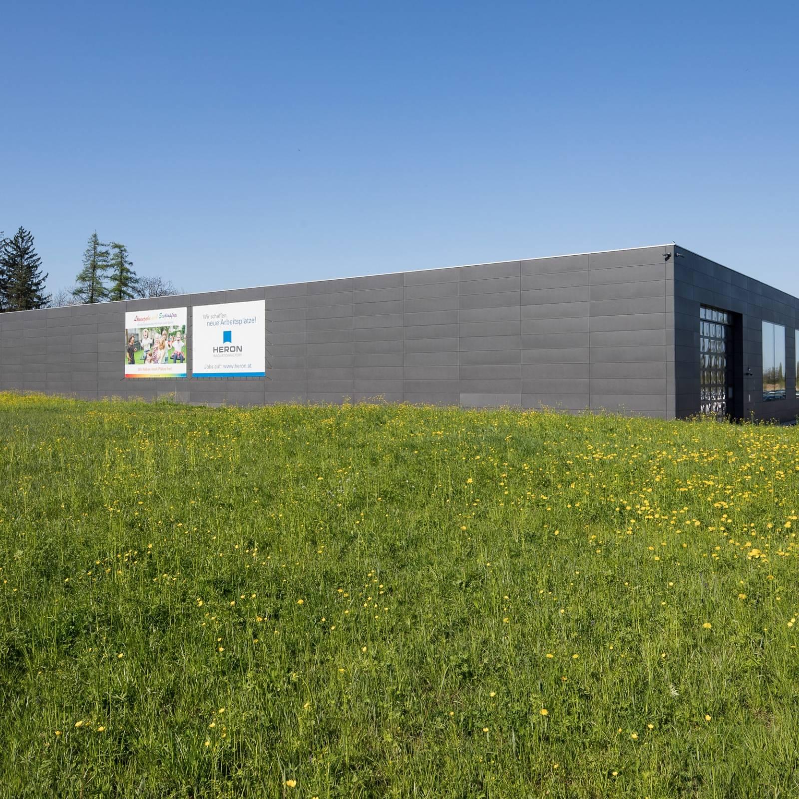Betriebserweiterung Firma Heron, Dornbirn