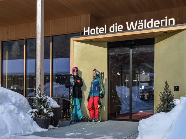 """Hotel """"die Wälderin"""", Mellau"""